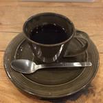 エスラスカフェ - 食後のコーヒーは200円でセットできる。