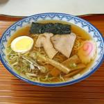 そば処 紀文 - 千秋麺(半)