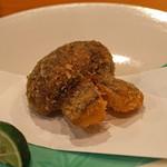 日本料理 たかむら - 揚物 初物 松茸のフライ