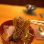 日本料理 たかむら - 御飯 冷やし坦々麺 たかむら麺