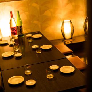 雰囲気からこだわった完全個室席完備◎新年会,女子会に♪