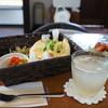 アンコムチュア - 料理写真:たまごサンドのランチセット850円です(2017.8.24)