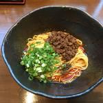 汁なし担々麺 階杉 - 汁なし担担麺5辛ヨガフレイム〜(*^▽^*)❤️❤️