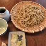 蕎麦 たじま - もりそば(大盛)