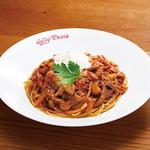 ジョリーパスタ - 料理写真:【8月24日スタート!】ポルチーニと牛肉の赤ワインソース¥1,190+税
