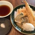 蕎麦 たじま - 穴子の天ぷら
