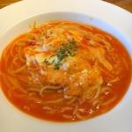 ピアッティーノイタリア - 料理写真:モッツァレラチーズのトマトソース