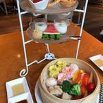 tcc Singaporean Café & Diner - スタンド&蒸籠