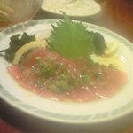 7199002 - 海藻麺とマグロの和風カルパッチョ