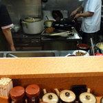 とん金 - 厨房