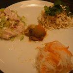 7199600 - 前菜3種盛り(1200円)