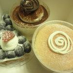 あさひや - ケーキ3種 ティラミス等 2011.2