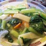 7199731 - エビ季節野菜塩味炒め
