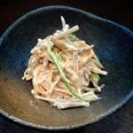 九州豚骨 ちゃんぽん 頃場 - 夏のおすすめ 大人のごぼうサラダ