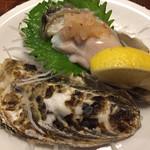 Kiguradiya - 生牡蠣410円