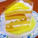 銀座コージーコーナー - ミルショート(オレンジマンゴー)