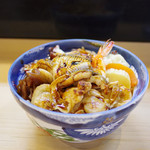 都寿司 - にもの丼