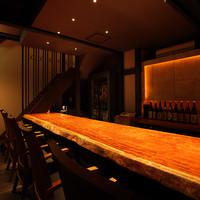 和酒BAR風雅 - 1階のカウンター席