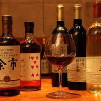 和酒BAR風雅 - 国産ウィスキーの数々