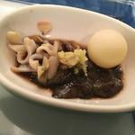 ふるさと料理 杉の子 - 鼈の肝臓  絶品です