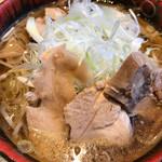 焔蔵 - 冷たい肉そば