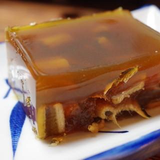淀 - 料理写真:穴子の煮凝り