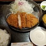 とんかつ和幸 シャポー小岩店 - ロースカツ御膳(1188円)