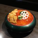 山さん寿司 - うにいくら丼☆