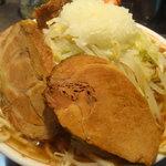麺屋 婆娑羅 - 婆娑羅 ラーメン+豚・シングル