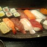 溜池おば九 - ランチ寿司1.5人前