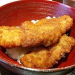 麺 みつヰ - カラッ!と揚がったソースカツ丼。350円