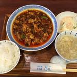 72000597 - 麻婆豆腐ランチ〜(´∀、`)/¥900円
