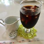 プラージュ - 長女のセットのアイスコーヒー!
