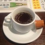 すぎのや本陣 雅庵 - サービスコーヒー