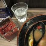 神田ラーメン わいず - 味変、辛味噌