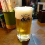 つるやII - ☆生ビール(^O^)☆