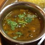 やっぱりインディア - 二種豆と茄子