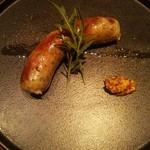 Osuteriayururi - 炭火焼き 安曇野放牧豚ソーセージ 和ハーブ