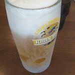 喜多見家 - 生ビール!