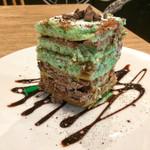 72005608 - チョコミントケーキ