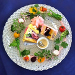 ビストロ ラ ポルト マルセイユ - ベジデコサラダ2種