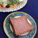 ビストロ ラ ポルト マルセイユ - 古代米パン