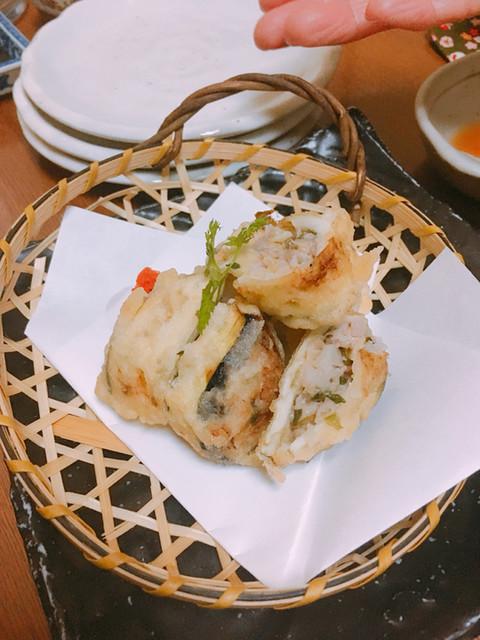 旬菜家 凪 - 茄子皮餃子