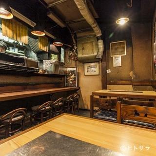 和食店のようなカウンターで、ゆったりとした時が過ごせます
