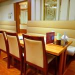 海のさむらい - ◆テーブル席