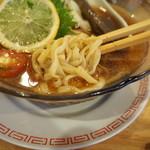 中華そば ムタヒロ 1号店 - 麺アップ