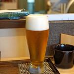 秋田 てんぷら みかわ - 生ビール