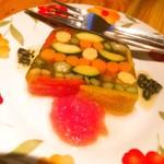 72009927 - 野菜のテリーヌ 580円