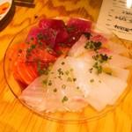 PETIT deco - 海鮮カルパッチョ 680円