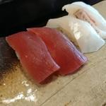 寿司・懐石處 やなぎ - 寿司らんち序盤